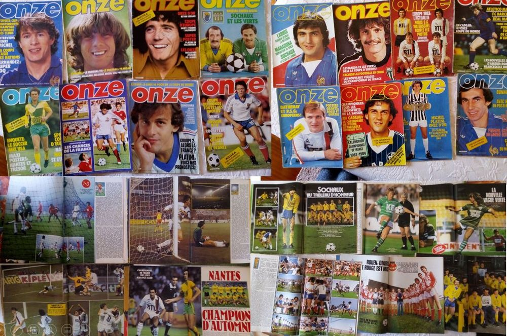 Collection magazine football Onze 0 Portugal (64)