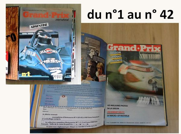 Collection :  GP Magazine International 1979-1981 