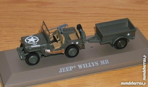 Collection miniature Jeep Willys MB militaire 10 Garges-lès-Gonesse (95)