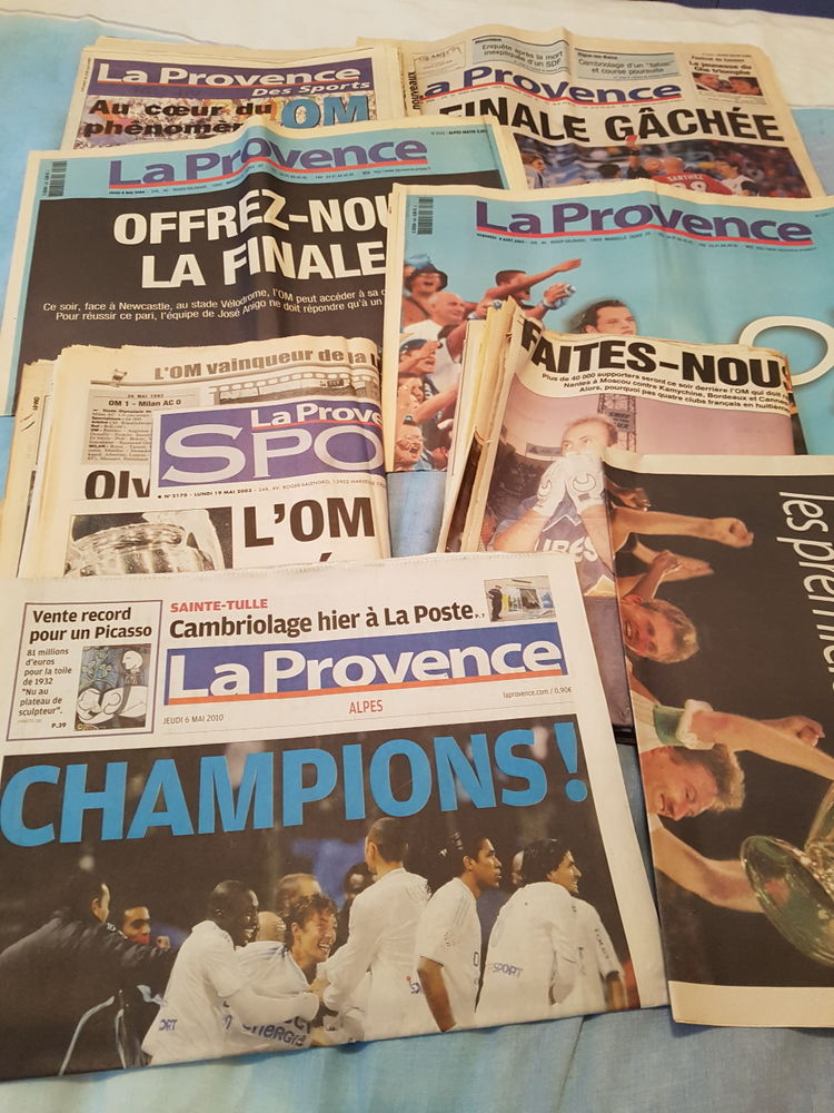 Collection Olympique de Marseille  320 Forcalquier (04)