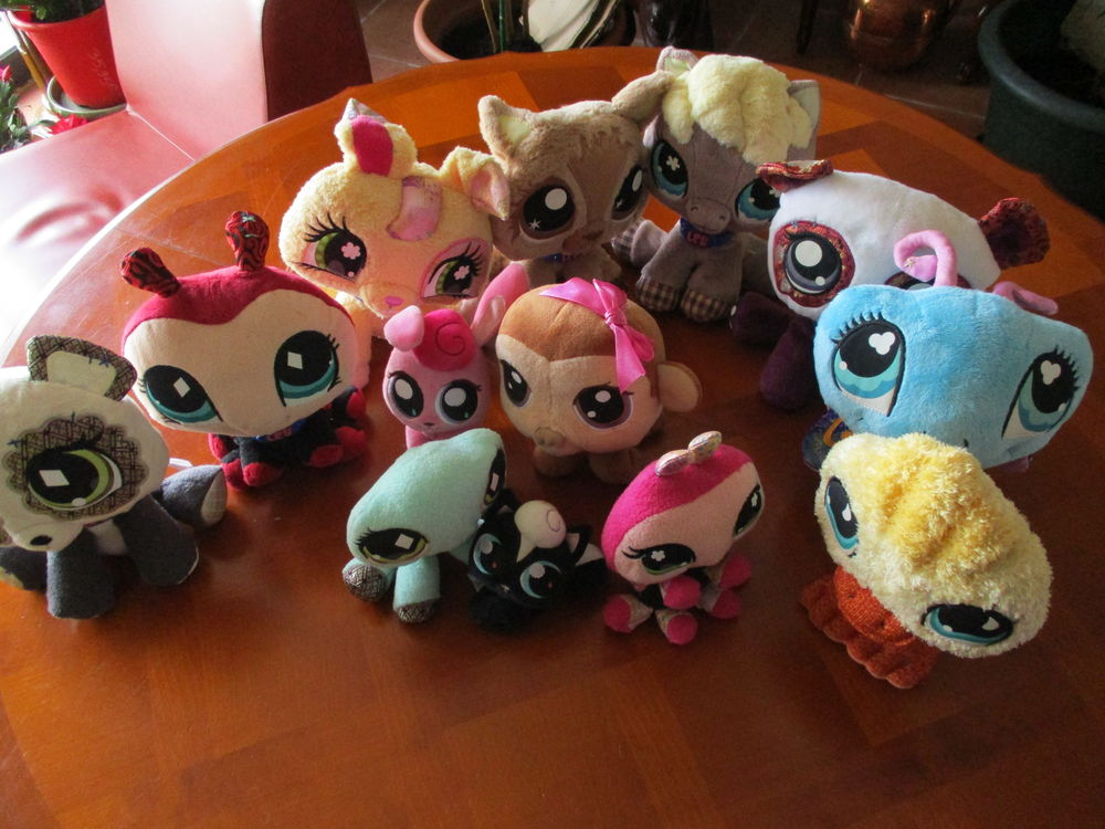 COLLECTION  PELUCHES  PETSHOP 80 Pamiers (09)