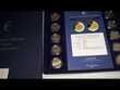 collection de 30 pièces de 2 euros sous blister et en ecrin
