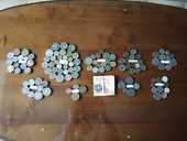 collection c70 pièces de monnaie tchèque, canada, france, ir 50 Plaisir (78)
