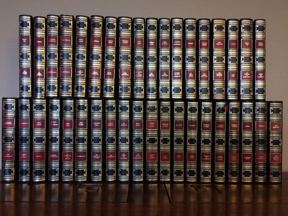collection romans reliés cuir neufs 260 Saint-Rémy-de-Blot (63)