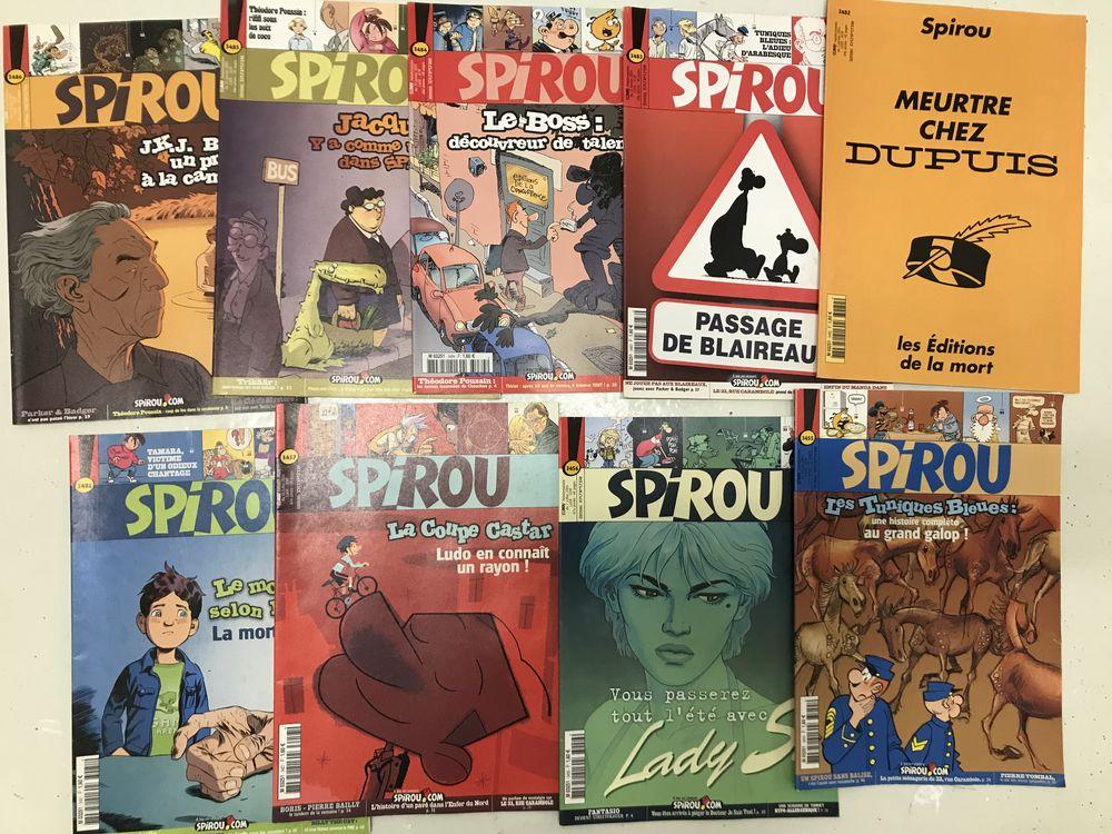 Collection 370 Spirous années 2004 à 2012 50 Craponne (69)