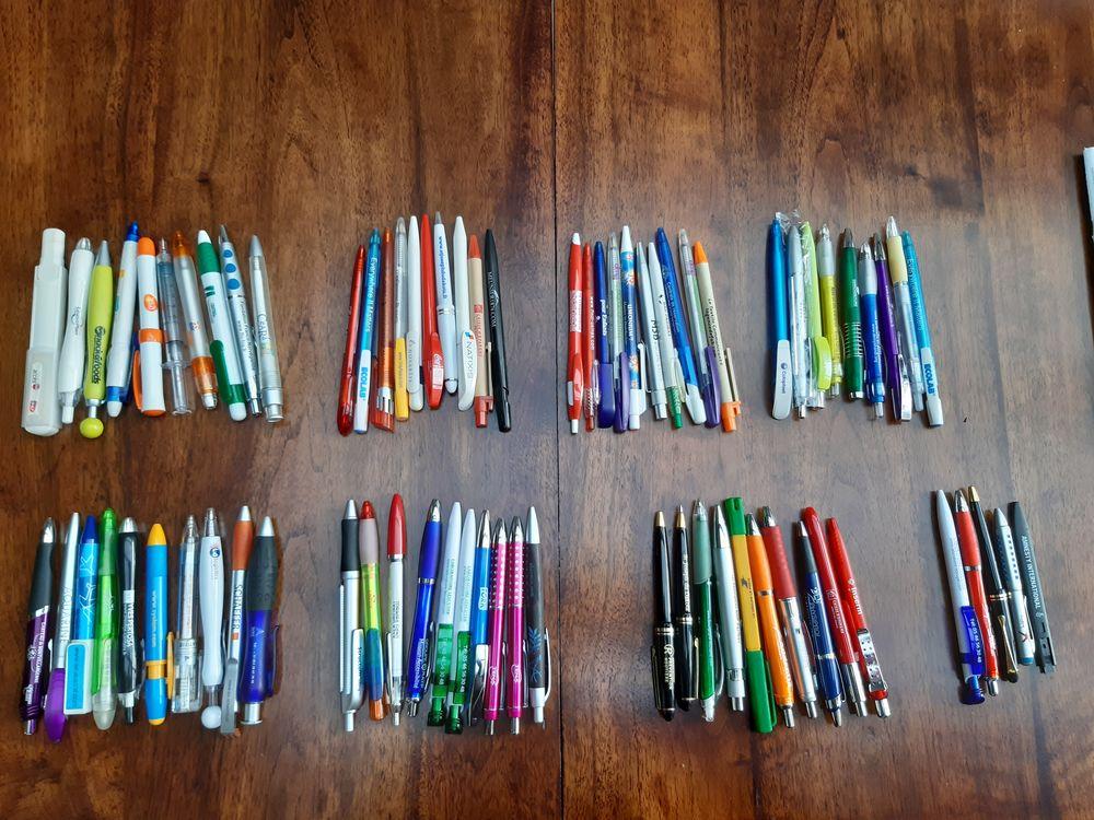 collection lot de 103 stylos publicitaires 45 Saint-Quentin (02)