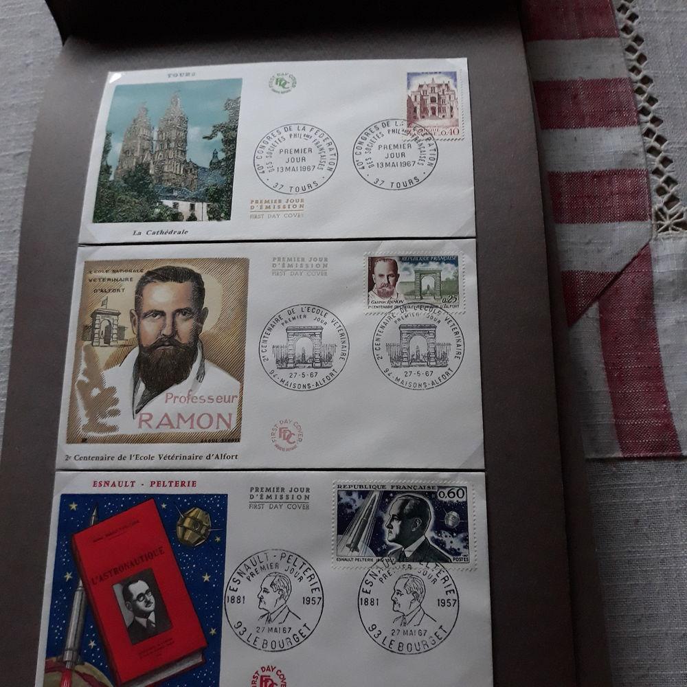 Collection de timbres  Enveloppes premier jour