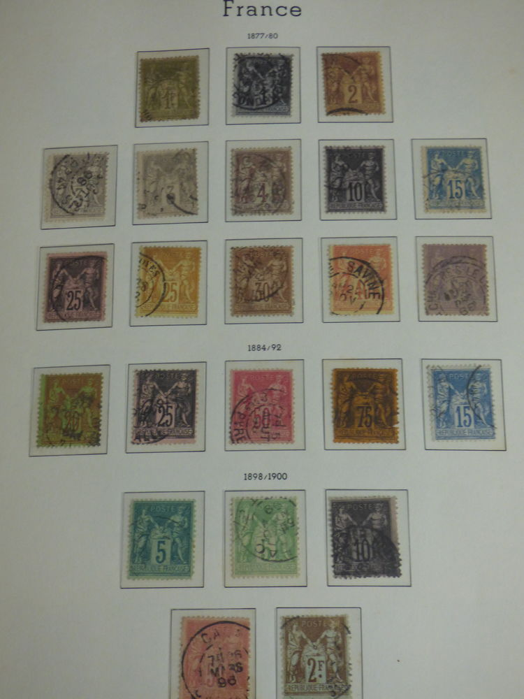 Collection Timbres Français + Albums