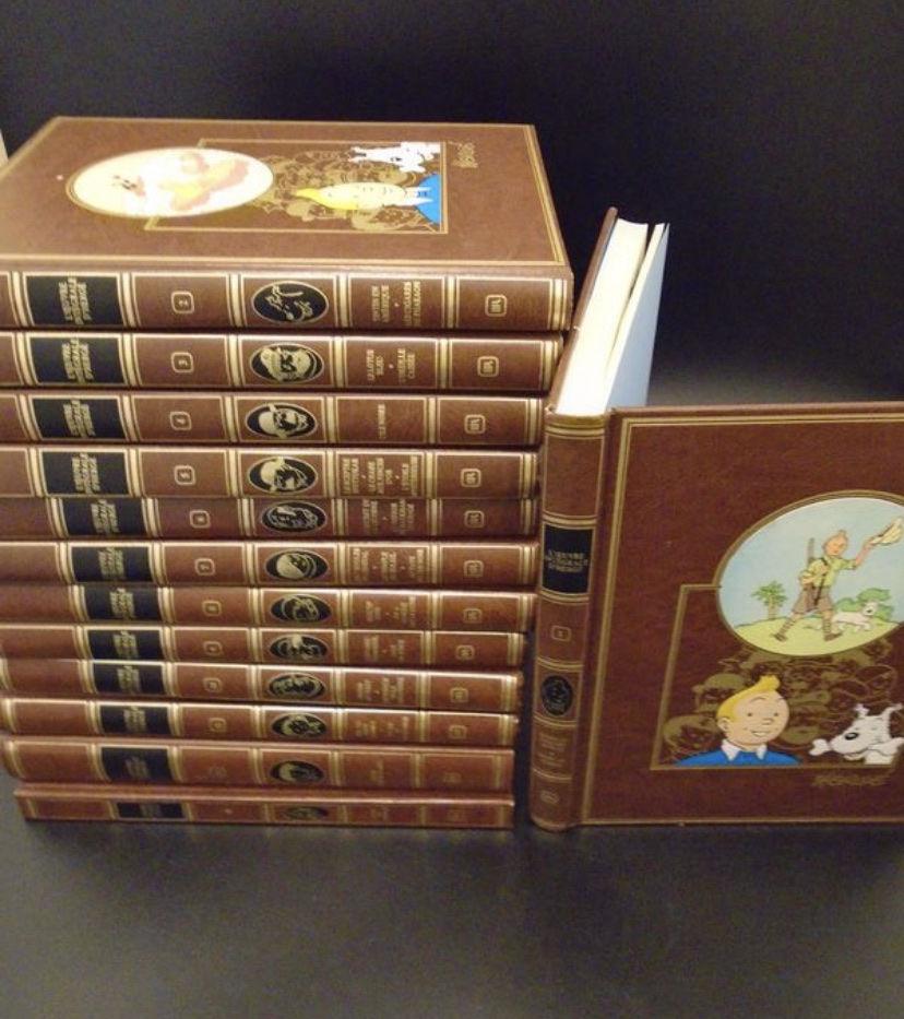 Collection Tintin intégrale de luxe Rombaldi 13 volumes 900 Paris 12 (75)