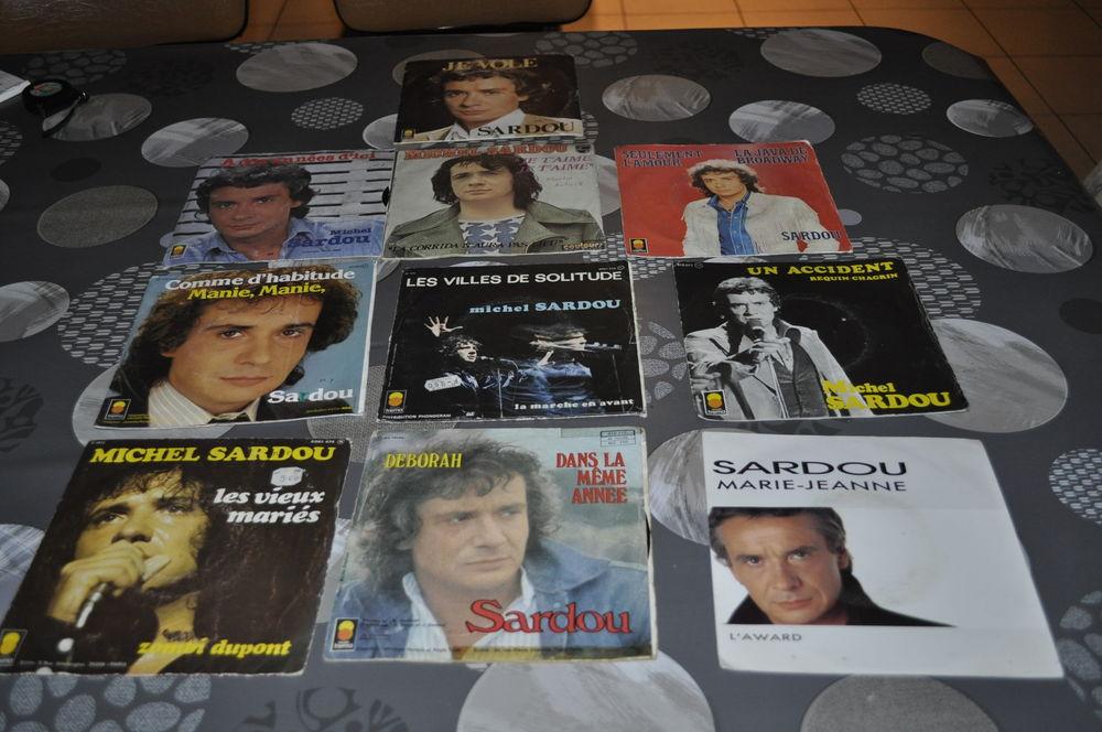 Collection 45 tours vinyles Michel Sardou 10 Perreuil (71)