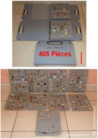LOT  de 405  PIN'S de ma COLLECTION 190 Lyon 3 (69)