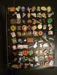 Collection de 216 pin's