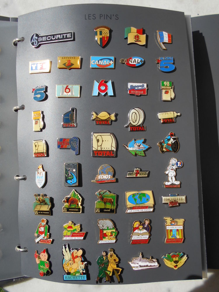 259 pin's (ma collection)