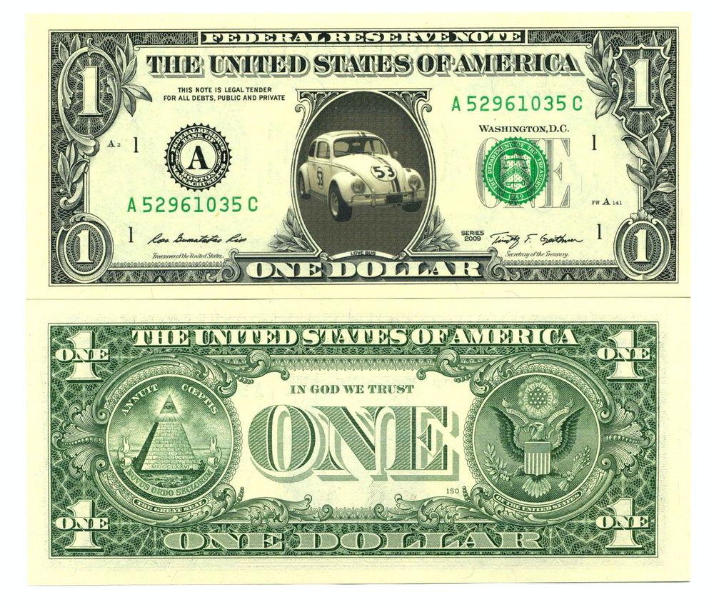 collector dollars américains neufs à l'effigie de: 0 Cambrai (59)