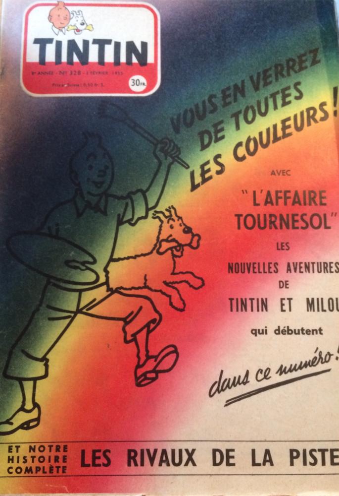 COLLECTOR LOT JOURNAL TINTIN 1954 et 1955 200 Nantes (44)