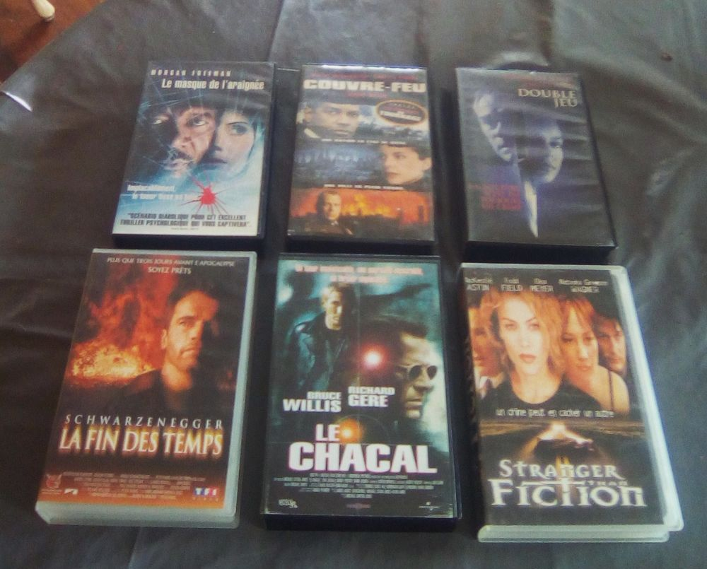 K7 VHS Collector. 1 Cagnes-sur-Mer (06)