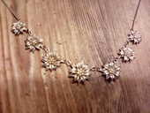 Collier argent edelweiss 20 Limoges (87)