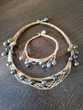 Collier et bracelet assortie tahitien