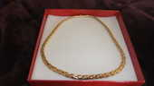 COLLIER OR   18 CARAT   34 GR   46 CM 1150 Cannes (06)