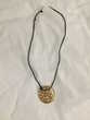 Collier cordon pendentif doré Bijoux et montres