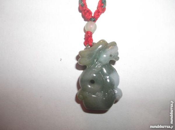 Collier Dragon Chinois (#3) en Jade 45 Tarbes (65)