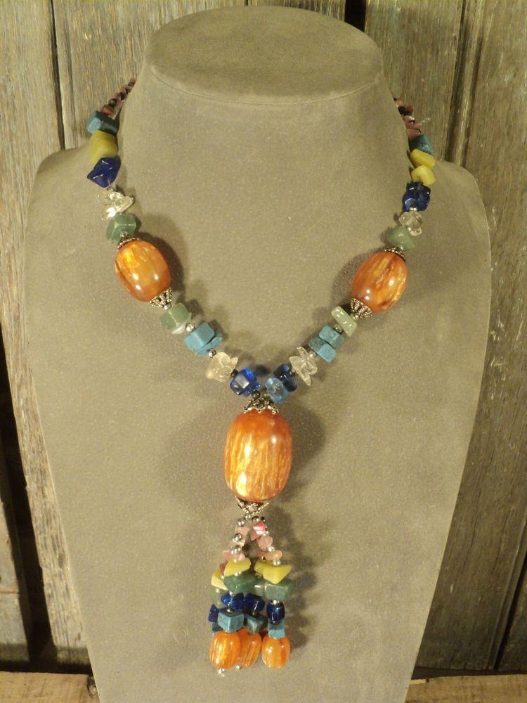 Collier Femme Vintage Perles Synthétiques et Verre  10 Loches (37)
