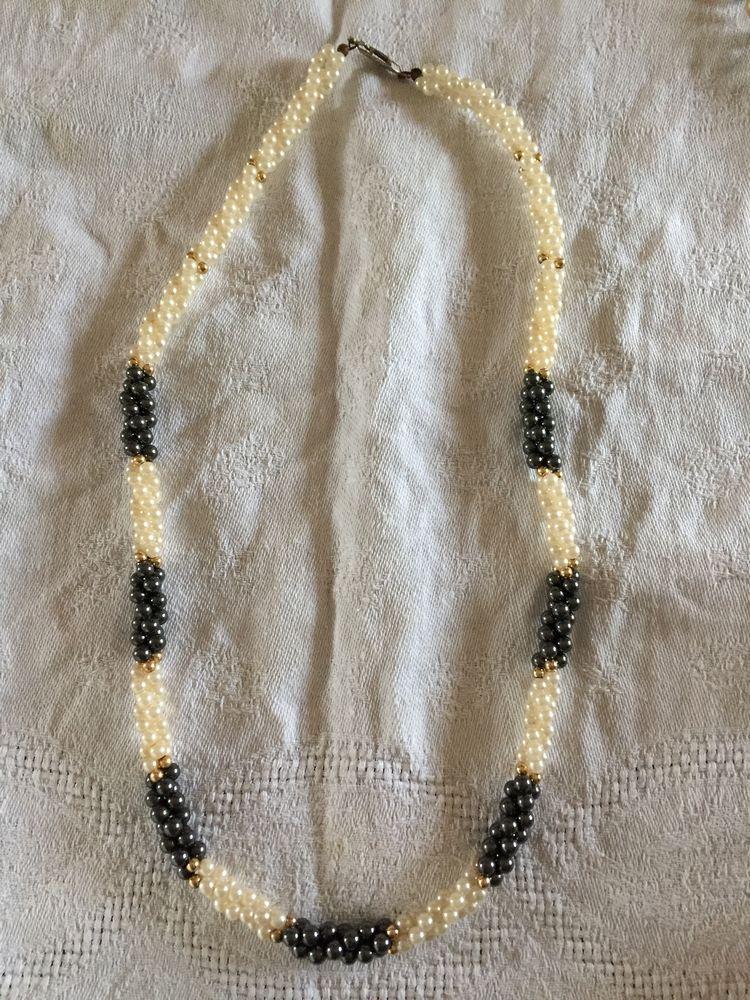 Collier sautoir en perles de Majorque 15 Nîmes (30)