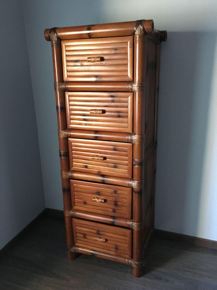 Colonne bambou 5 tiroirs 0 Jarnac (16)