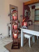 Colonne éclairage de  décoration 80 Rumegies (59)