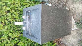 colonne  lavabo en granit 700 Chaponost (69)