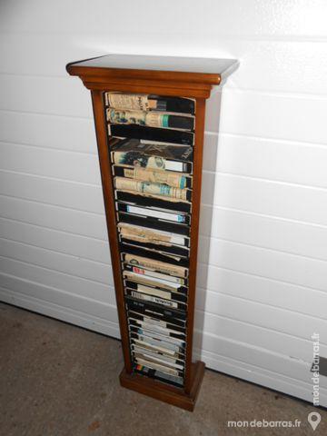Colonne de rangement cassettes VHS 30 Coulogne (62)