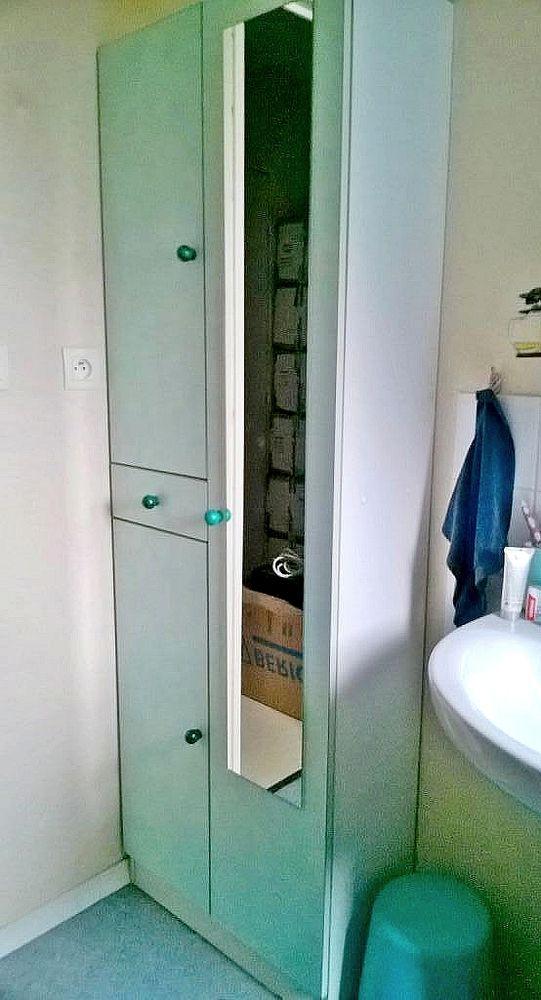 Colonne salle de bain 2 portes miroir 90 La Chapelle-Saint-Mesmin (45)