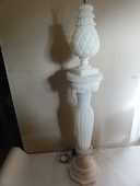 2 colonnes d'  albâtre lumineuses haut et bas année 60 70 200 Nanterre (92)