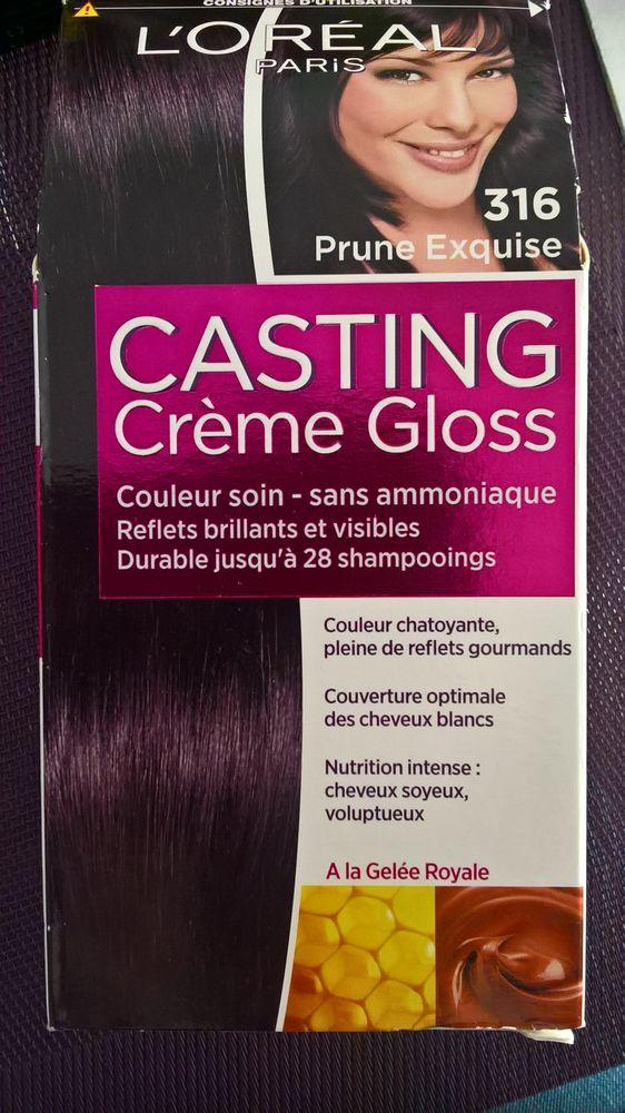 Coloration gloss cheveux blancs