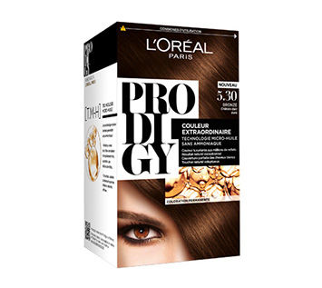 Coloration L'Oréal Prodigy Châtain 5.30 (Neuf) 10 Ardoix (07)