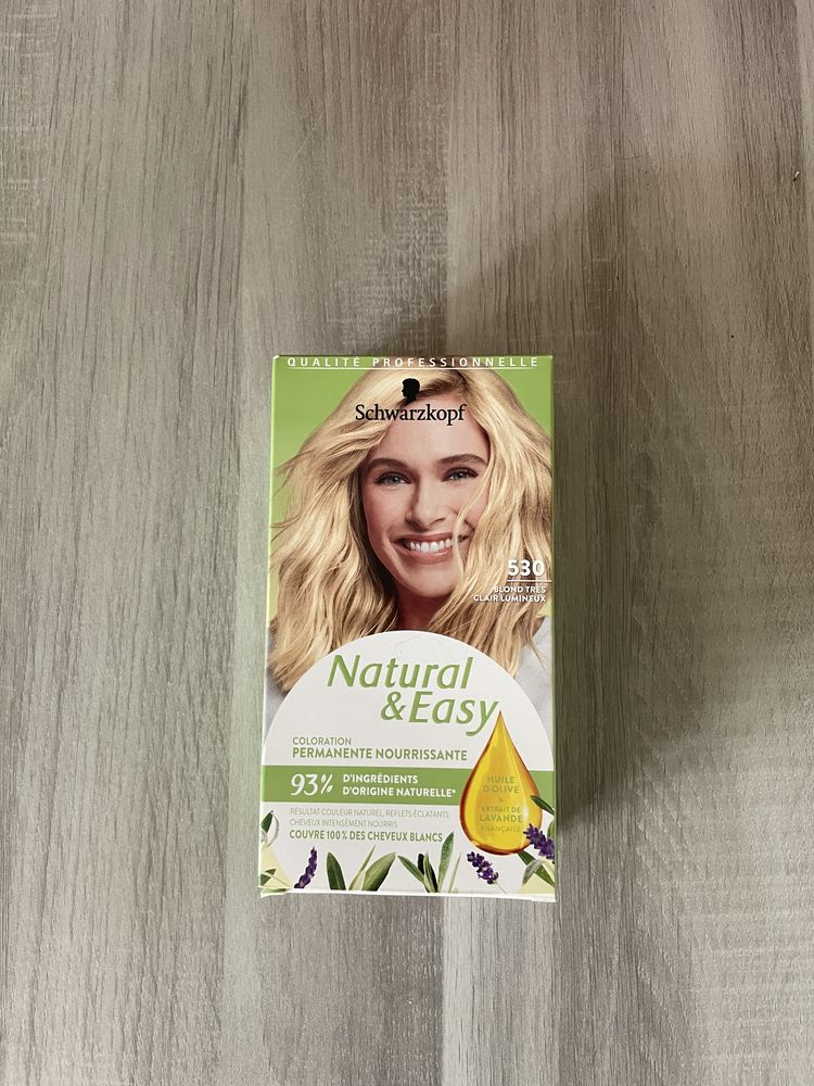 Coloration permanente nourrissante Natural & Easy 530  0 Compiègne (60)