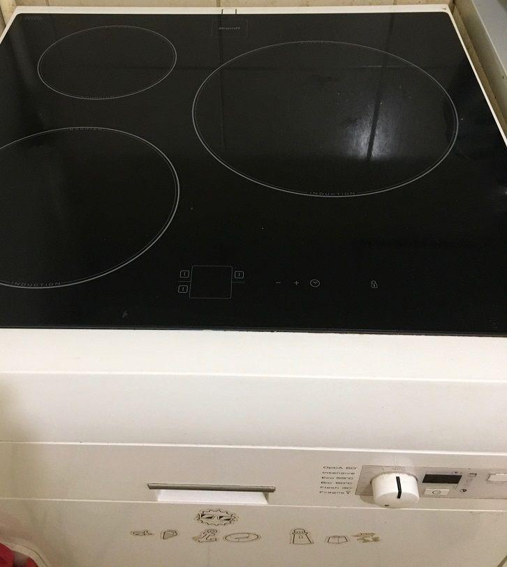 Combi lave vasselle + plaques induction Brandt 0 Paris 18 (75)