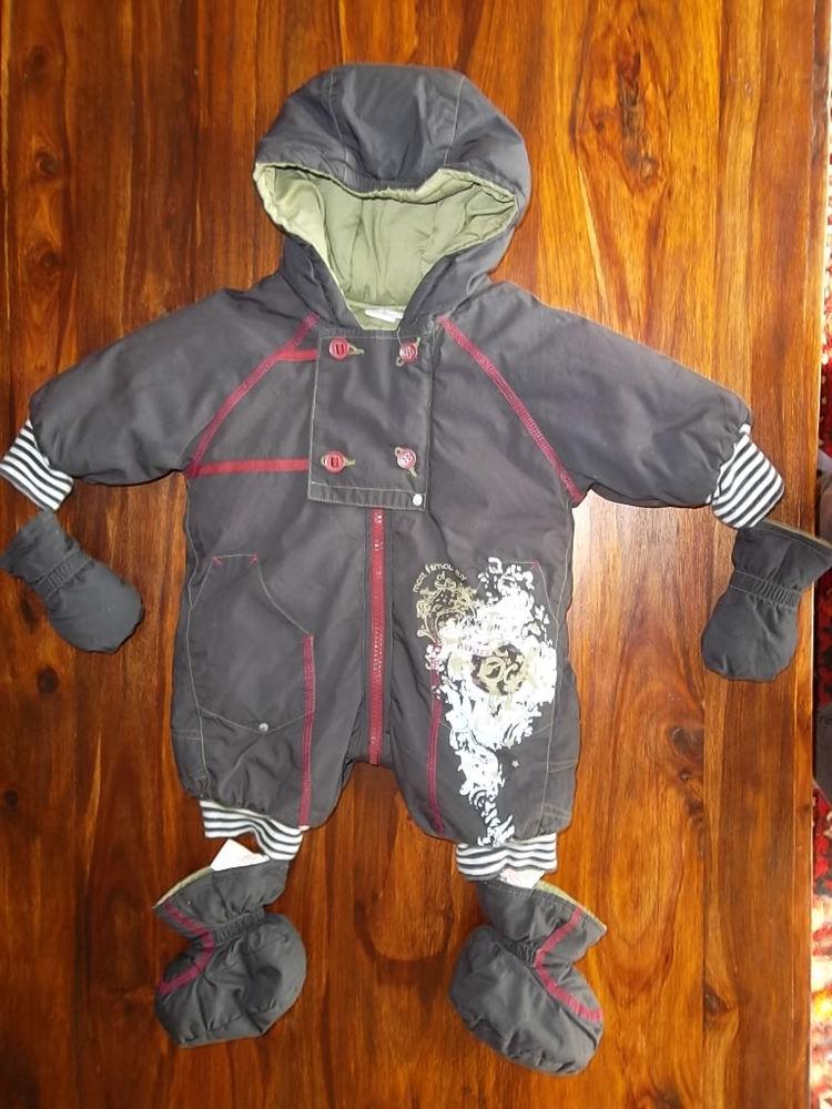 Combi-pilote à capuche bébé Aubisou  8 Tonnoy (54)