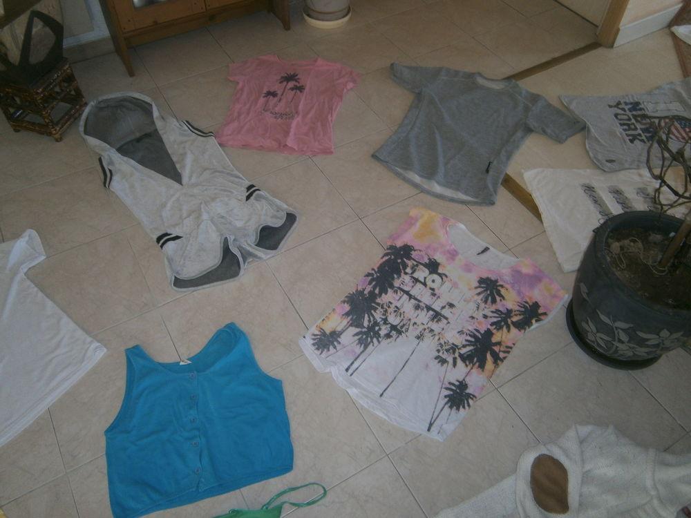 un combi short gris une dizaine de T shirt 10 Annonay (07)