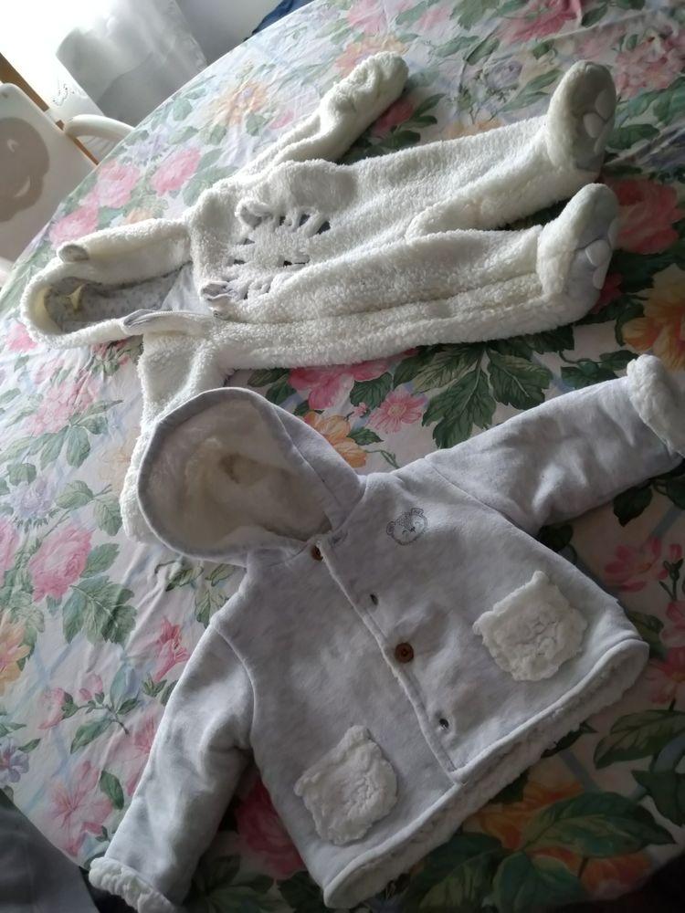 Lot combinaison et blouson de 0 à 3 mois mixte Vêtements enfants