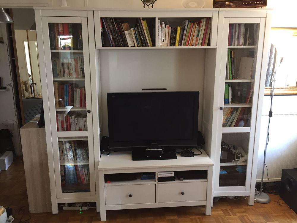 une combinaison meuble TV & étagères IKEA 320 Boulogne-Billancourt (92)