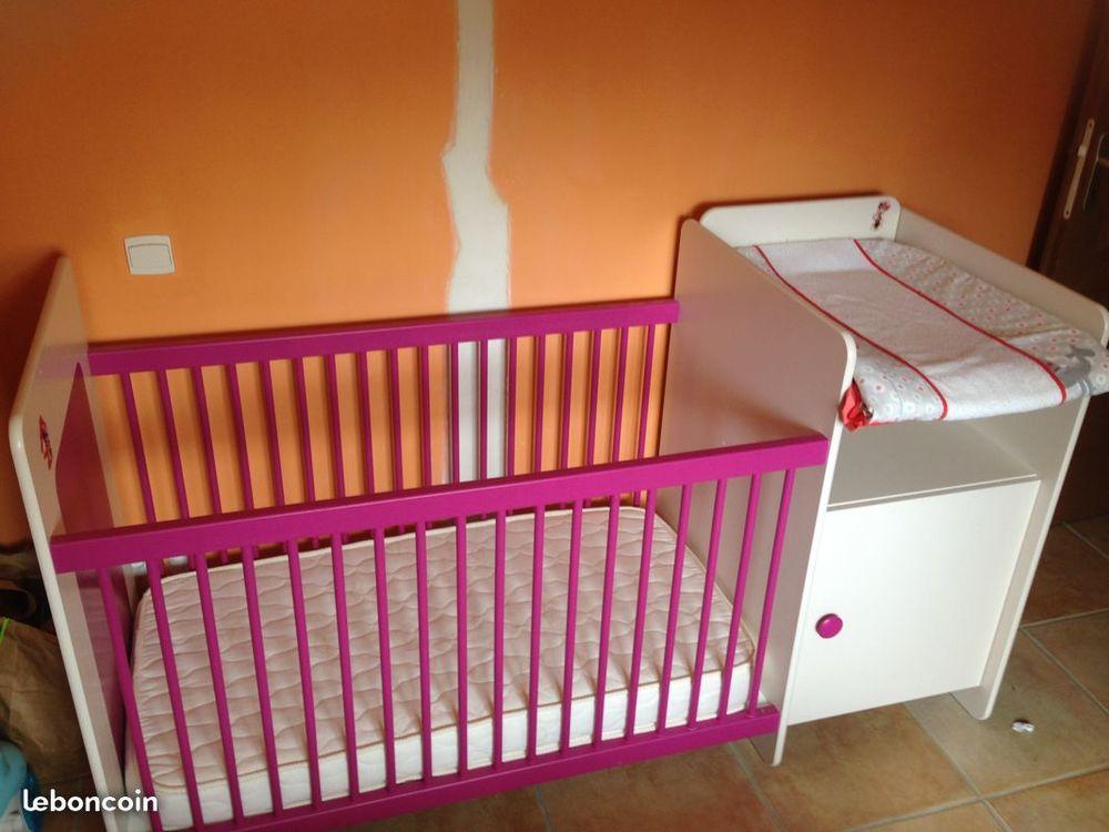 Combiné lit bébé évolutif en lit 1 personne 90x190 180 Lézignan-la-Cèbe (34)