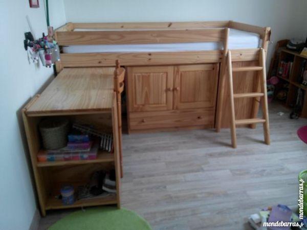 lits enfant occasion poitiers 86 annonces achat et vente de lits enfant paruvendu mondebarras. Black Bedroom Furniture Sets. Home Design Ideas