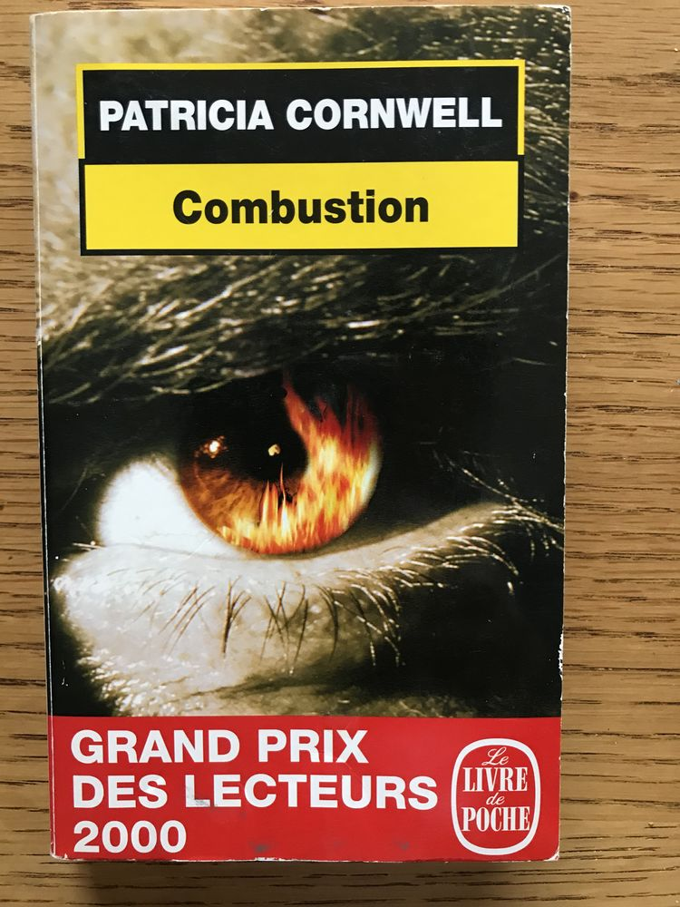Combustion - Patricia CORNWELL 3 Levallois-Perret (92)