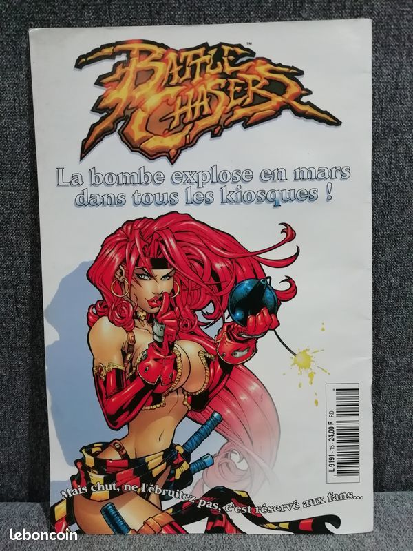 Comics witchblade Tomb Raider N°15 9 Andilly (95)
