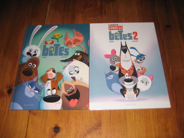 lot 2 bd COMME DES BETES 1+2 DUPUIS 10 Cézy (89)