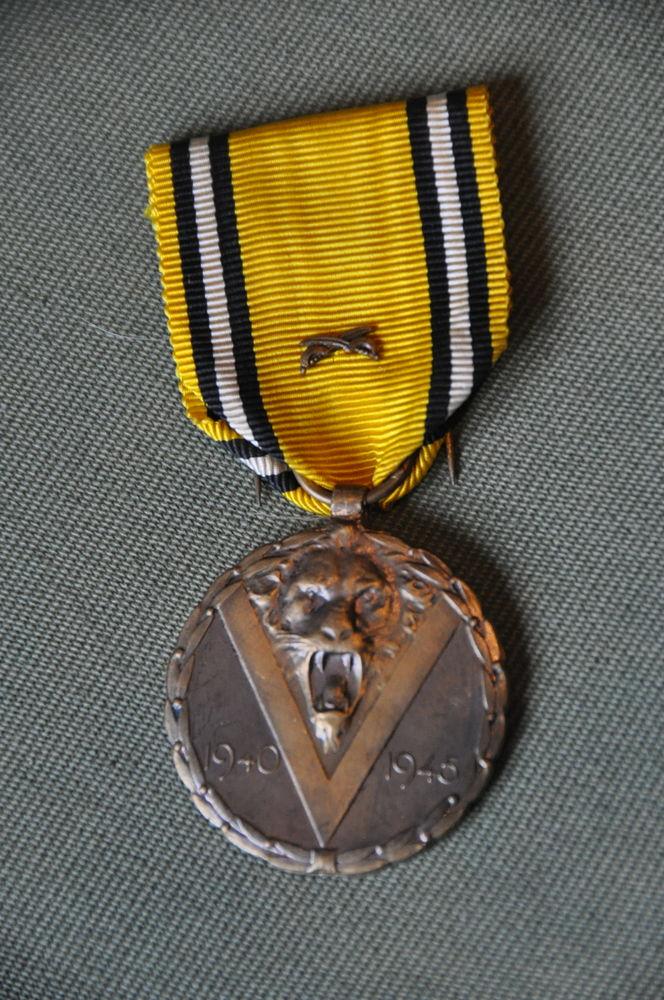 Commémorative LION Belge 1940-45 20 Saint-Germain (10)
