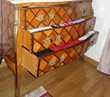 Commode ancienne en bois de rose marqueté Meubles