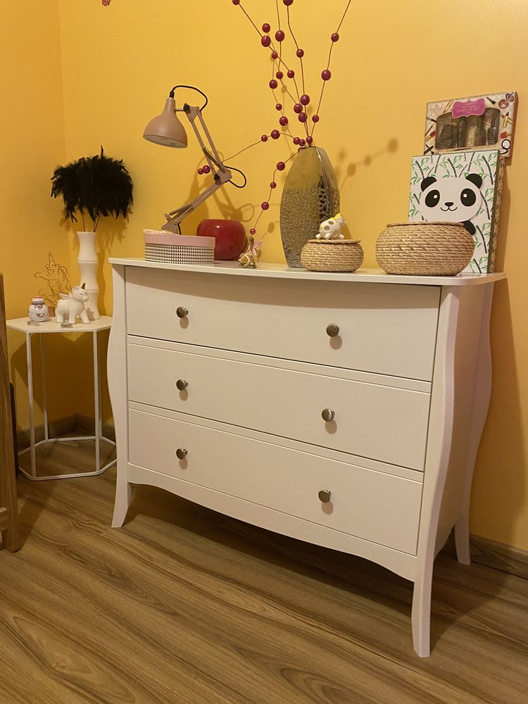Commode Barocco blanche  160 Dampniat (19)