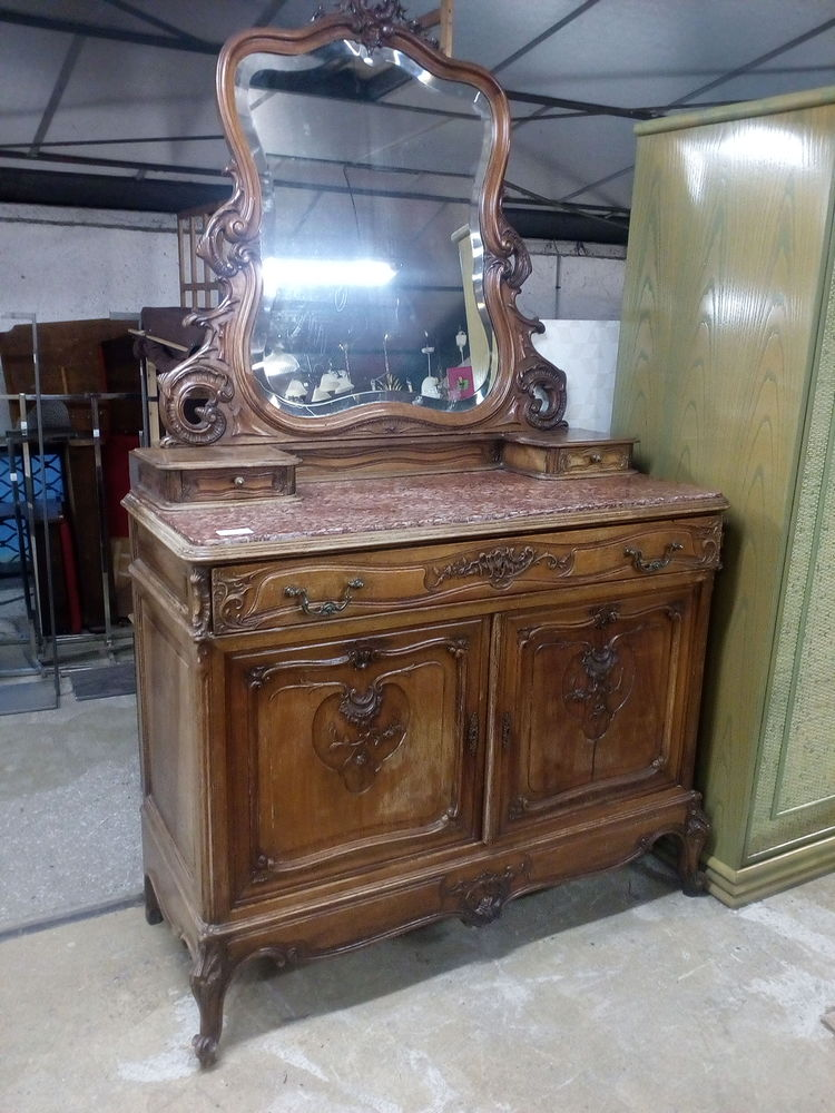 Commode psyché style Louis XV Rocaille 180 Toulouse (31)